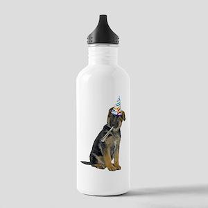 German Shepherd Party Stainless Water Bottle 1.0L
