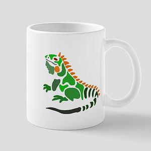 Artistic Iguana Mugs