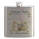 National Parks Centennial Flask