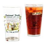 National Parks Centennial Drinking Glass