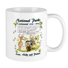 National Parks Centennial Mugs