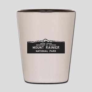 Mount Rainier National Park, Washington Shot Glass