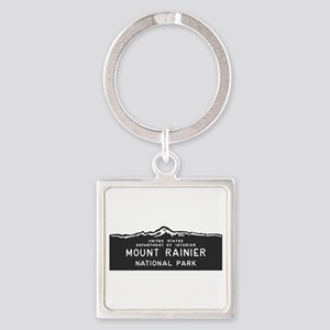 Mount Rainier National Park, Washi Square Keychain
