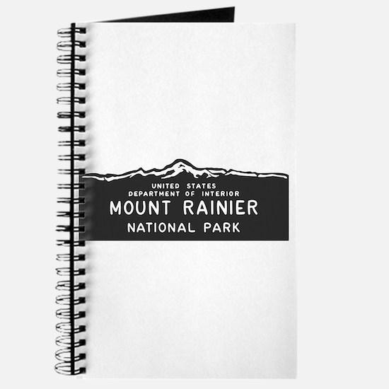 Mount Rainier National Park, Washington, Journal