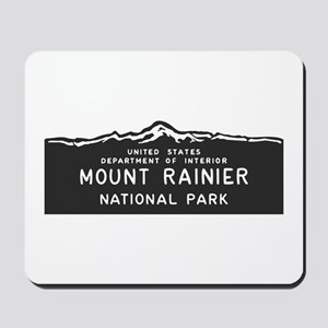 Mount Rainier National Park, Washington, Mousepad