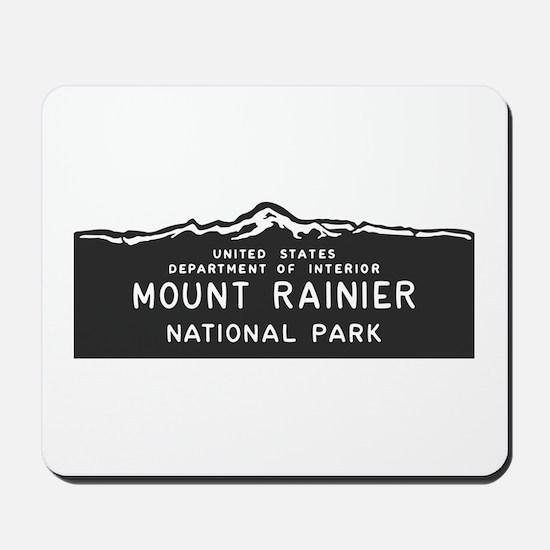 Mount Rainier National Park, Washington, Mousepad