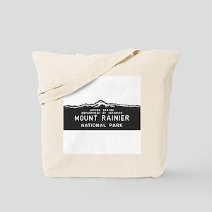 Mount Rainier National Park, Washington, Tote Bag