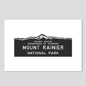 Mount Rainier National Pa Postcards (Package of 8)