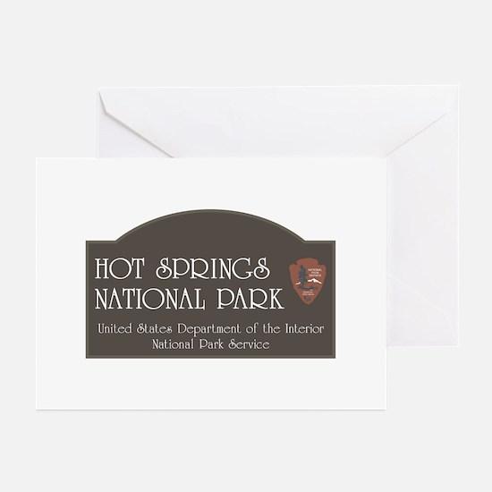 Hot Springs National Par Greeting Cards (Pk of 10)