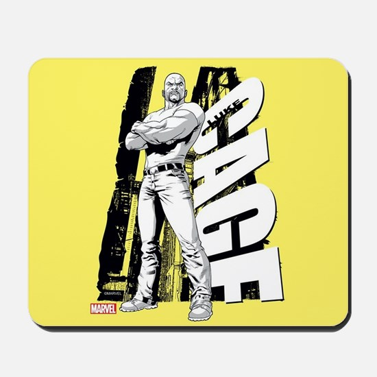 Luke Cage Black & White Mousepad