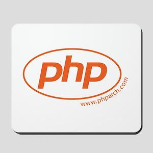 Php Oval Logo Mousepad
