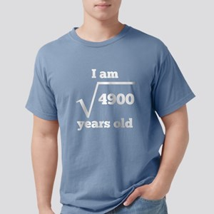 70th Birthday Square Root T-Shirt