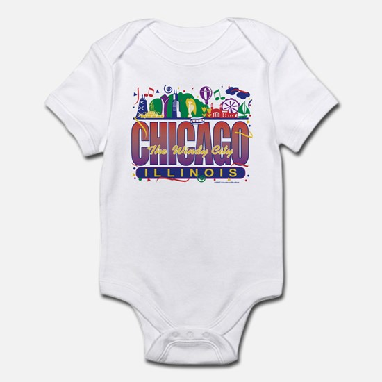 Chicago Confetti  Infant Bodysuit