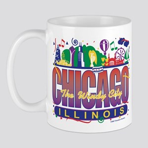 Chicago Confetti  Mug