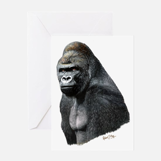 Cool Gorilla Greeting Card