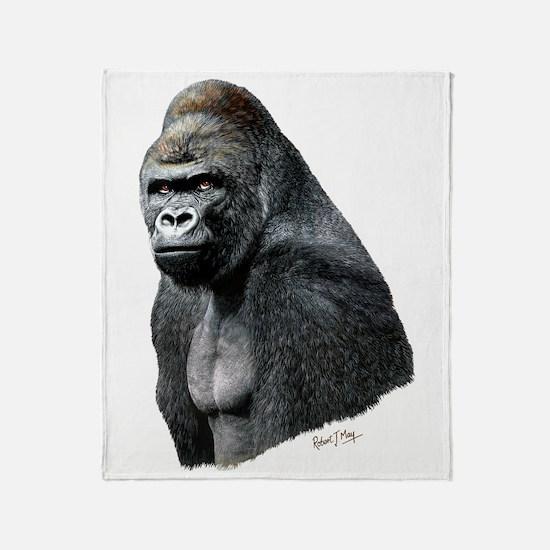 Unique Gorilla Throw Blanket