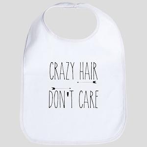 Crazy Hair Don't Care Bib