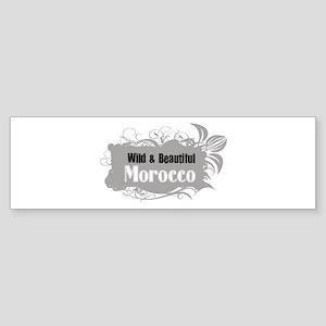 Wild Morocco Bumper Sticker
