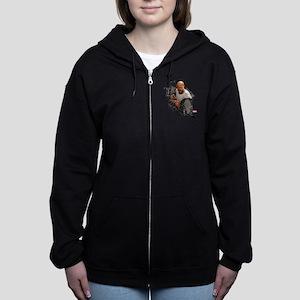 Luke Cage Initials Women's Zip Hoodie
