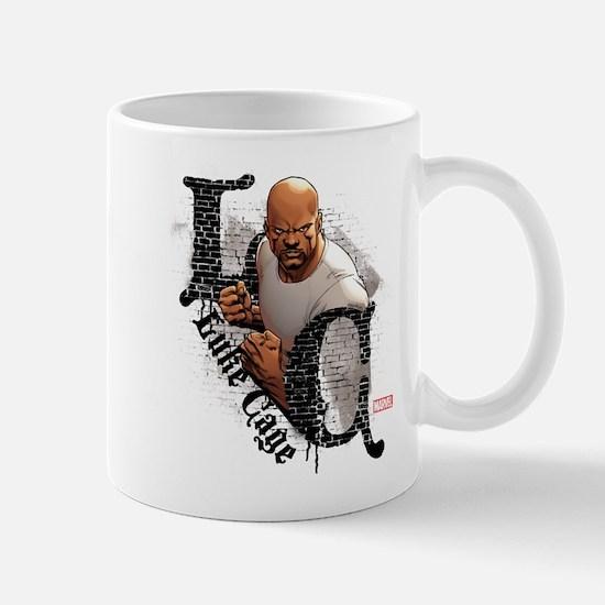 Luke Cage Initials Mug