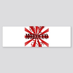 Morocco Vintage Bumper Sticker