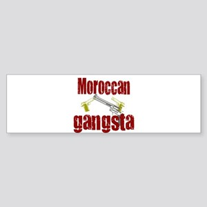 Moroccan Gangsta Bumper Sticker