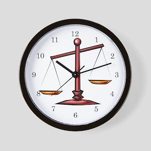 Lawyer Attorney Wall Clock