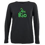 Rio Plus Size Long Sleeve Tee