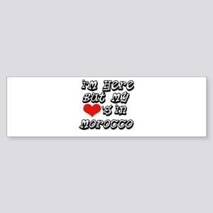 Heart in Morocco Bumper Sticker