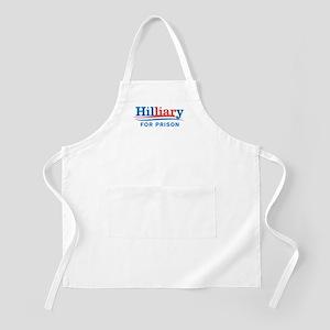 Liar Hillary For Prison Apron