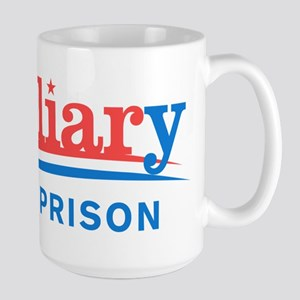 Liar Hillary For Prison Mugs