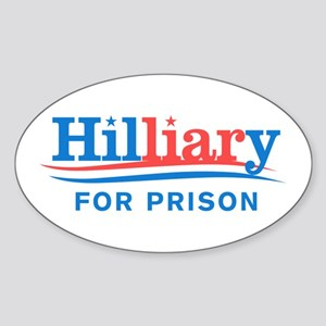 Liar Hillary For Prison Sticker