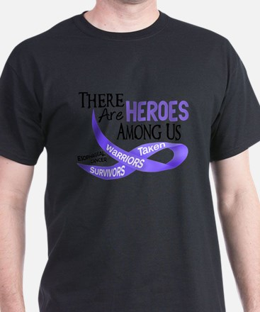 Heroes Among Us ESOPHAGEAL CANCER T-Shirt