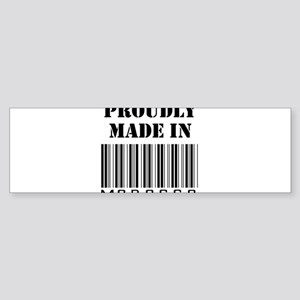 made in Morocco Bumper Sticker