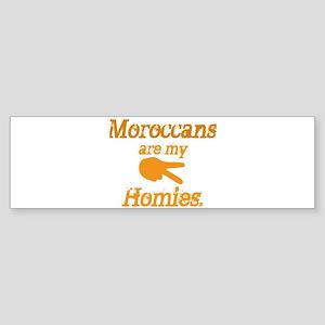 Moroccans Homies Bumper Sticker