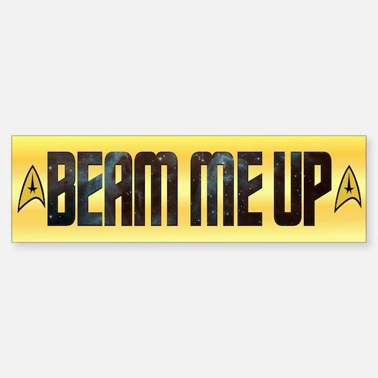 Beam Me Up Bumper Bumper Bumper Sticker
