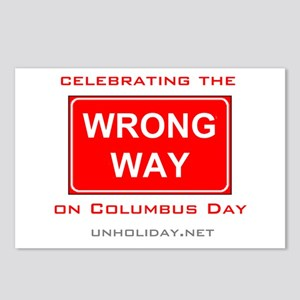 Wrong Way Columbus 01 Postcards (Package of 8)