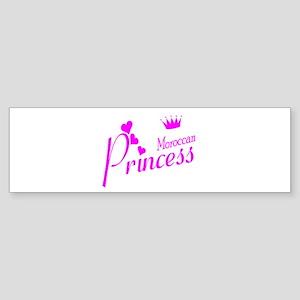 Moroccan Princess Bumper Sticker