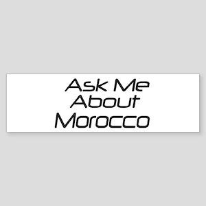 Ask Morocco Bumper Sticker
