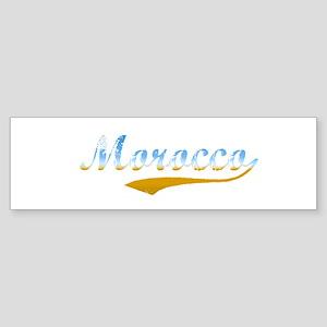 Morocco beach Bumper Sticker