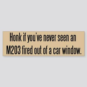 Tacticool Tan Honk M203 Sticker