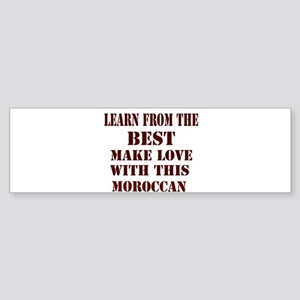 Learn Moroccan Love Bumper Sticker