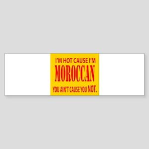Hot Moroccan Bumper Sticker