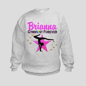 GYMNAST FOREVER Kids Sweatshirt