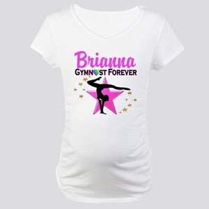 GYMNAST FOREVER Maternity T-Shirt