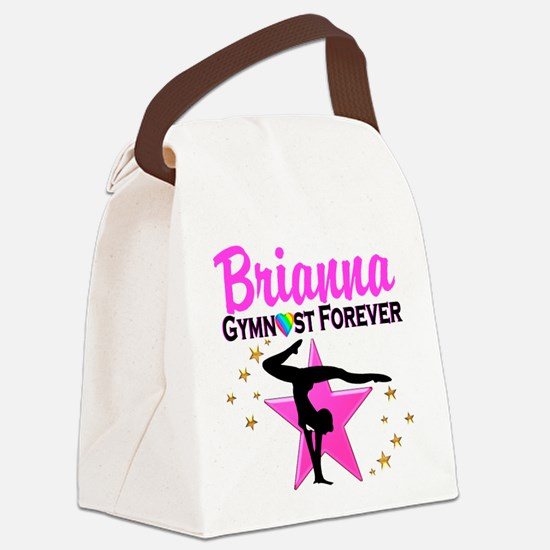 GYMNAST FOREVER Canvas Lunch Bag