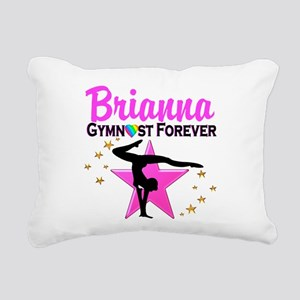 GYMNAST FOREVER Rectangular Canvas Pillow