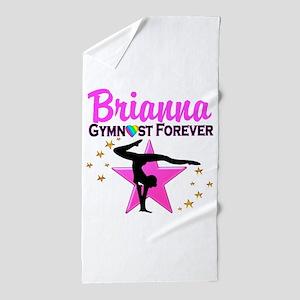 GYMNAST FOREVER Beach Towel
