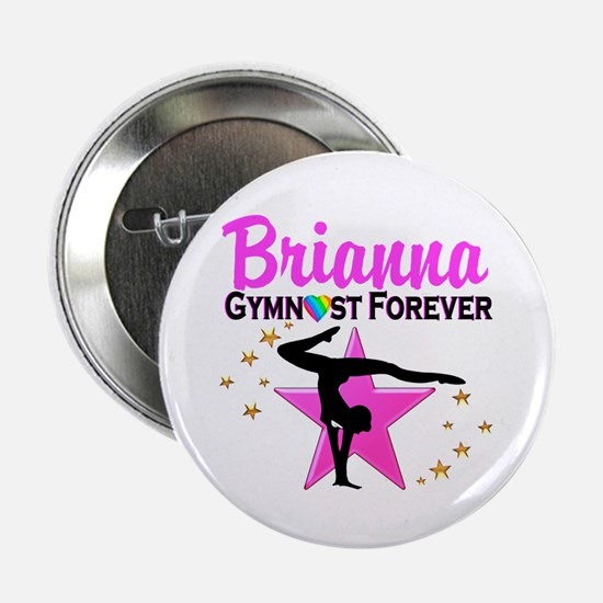"""GYMNAST FOREVER 2.25"""" Button"""