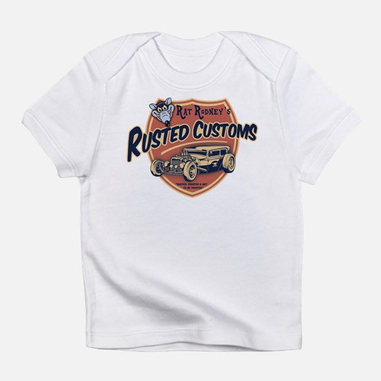 Rusted Customs II White T-Shirt